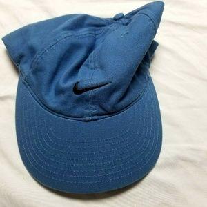 Nike baseball hat H8WD1 blue adjustable back